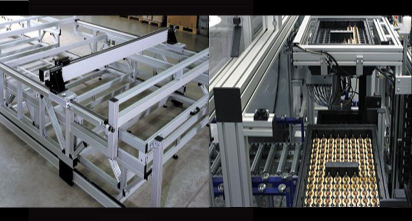 application aluminium profile