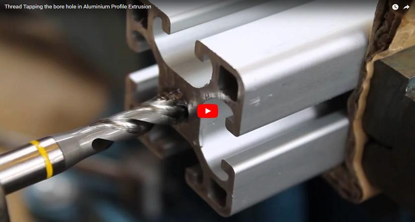 video clip aluminium profile